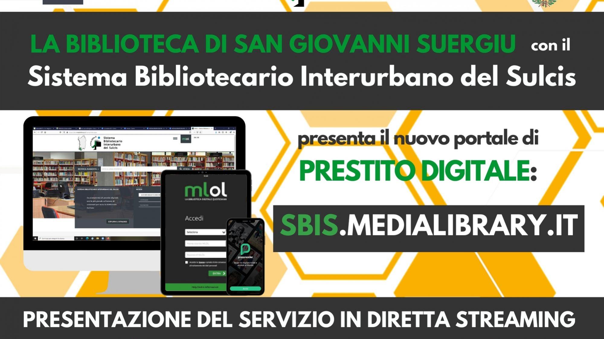 Locandina MLOL evento San Giovanni Suergiu