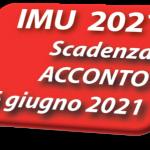 Acconto IMU 2021