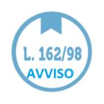 LEGGE 162/98. AVVISO MANDATI DI PAGAMENTO