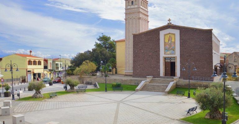 Piazza 4 Novembre San Giovanni Suergiu